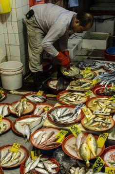 Fish Market, Jordan Road, Yau Ma Tei, Kowloon, Hong Kong