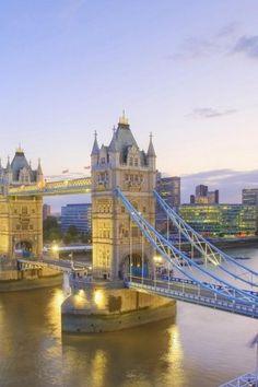 Thames river, Tower Bridge, London