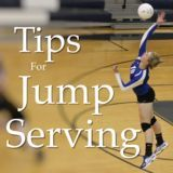 Jump Serving Tips One of the most exciting things to learn how to do in volleyball, is to jump serve. This skill often comes after you've been aquatinted with t Volleyball Training, Volleyball Serving Drills, Volleyball Hitter, Volleyball Drills For Beginners, Volleyball Serve, Volleyball Skills, Volleyball Practice, Volleyball Games, Volleyball Workouts