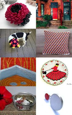 Red by Marilyn on Etsy--Pinned with TreasuryPin.com