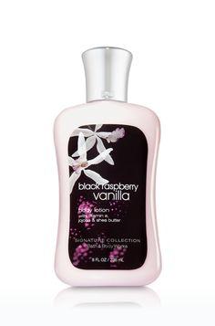 Black Raspberry Vanilla Body Lotion - Signature Collection - Bath & Body Works