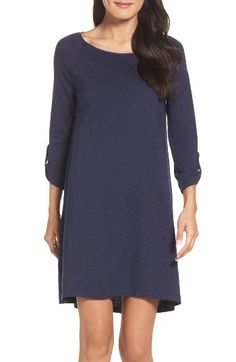 Free shipping and returns on Lilly Pulitzer® Surfcrest Shift Dress at Nordstrom.com. Go easy and look cute to the office or on vacation in this supersoft dress polished by roll-tab details.