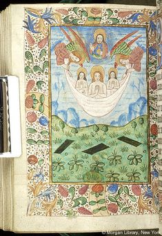 Book of Hours, MS M.487 fol. 192v - Images from Medieval and Renaissance Manuscripts - The Morgan Library & Museum