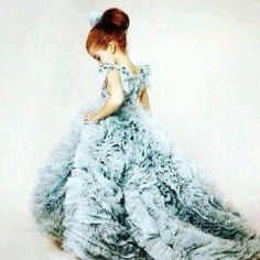This is so cute!!! Its like Maxon and America's daughter playing dressup in her moms old Selection dress.... Love it!!!