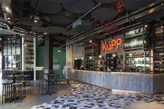 Kupp Café: Local de diseño