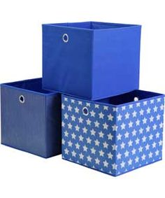 Stars Canvas Storage Box.