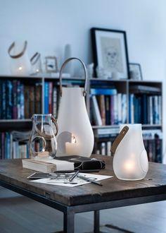 Holmegaard Lantern Design with Light clear:ホルムガード ランタン クリア