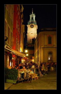 Gamla Stan, Stockholm, Sweden (I lived 3 doors from the Old Church)