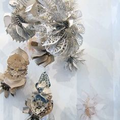 Suzi Mclaughlin's wild and magical array of paper laser cut flowers