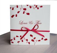 Einladung Hochzeit Dunkelrot   Einladung Zur Hochzeit / Taufe   Pinterest   Einladungen  Hochzeit, Einladungen Und Die Hochzeit