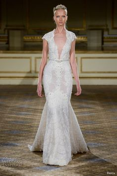 Berta Fall 2016 Wedding Dresses — New York Bridal Runway Show | Wedding Inspirasi