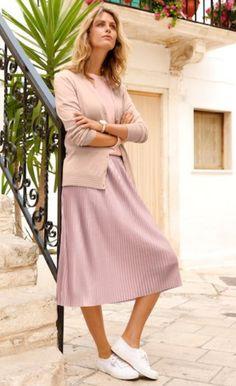 Erhältlich im online shop von mona.de mit 5% Cashback für KGS Partner Im Online, Midi Skirt, Skirts, Shopping, Fashion, Fashion Women, Woman, Moda, Skirt