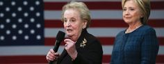 Madeleine Albright scolds young women for backing Bernie Sanders. (Reuters)