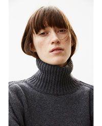 STUDIO 系列豎領羊毛針織衫 - 有更多色彩可供選擇