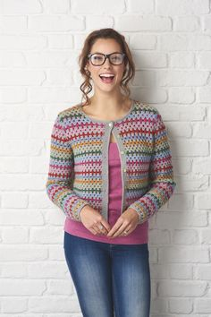 C. PAID PATTERN by Simply Crochet : Granny Treble Cardigan Issue # 54 errata page