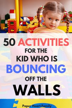 Kids bouncing off the walls? These high energy indoor games and activities will help your kids fight cabin fever. These easy, at home physical activities for kids are my family's go to activities (they'll soon be yours, too!) games for kids Physical Activities For Kids, Indoor Activities For Toddlers, Indoor Activities For Kids, Home Activities, Fun Activities For Kids, Infant Activities, Safety Games For Kids, Easy Games For Kids, Calming Activities