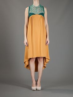 This piece weirds me out yet I'm drawn to it. Like the colour and drape. Women - All - Kore Sophia Kokosalaki Backless Dress - Bernard Boutique