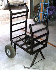 Miller - Welding Projects - Idea Gallery - Firewood Cart