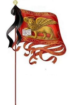 Modern rendering of an Oriflamme five-tail flag. History Of Flags, Art History, Flag Painting, Silk Painting, Pictures Of Flags, Medieval Banner, Devian Art, Medieval Armor, Flags Of The World