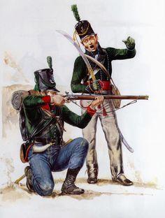 Collection de Sabres et Epées des Guerres Napoléoniennes: Sabre d' Officier d' Infanterie Légère Anglaise ou Rifleman vers 1800 Wellington Army