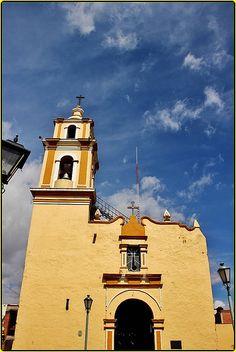 Templo San Miguel Xochimehuacan,San Andrés Cholula,Estado de Puebla,México