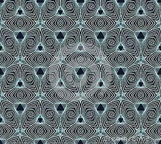 Lineair geometrisch patroon, het ontwerp van het jaren  50behang
