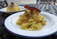 ThreeDietsOneDinner - Paleo Recipes to fit every diet - Paleo Weight Loss - Optimal Nutrition: SPAGHETTI SQUASH CARBONARA