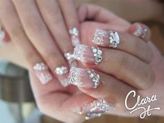 nails designs | Latest Nail Art Designs For Wedding Brides 2012-2013 | We Learners