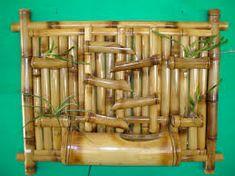 Resultado de imagem para trabalhos com bambus