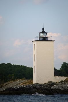 Dutch Island Light, Rhode Island   #VisitRhodeIsland
