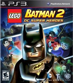 Lego Batman 2 DC Super Heroes nds is an action-adventure video game for Nintendo DS. This game is developed by TT Fusion and published by Warner Bros. Lego Batman 2, Batman Robin, Batman Hero, Superman, Batman Party, Batman Birthday, Batman Games, Superhero Spiderman, Lego Birthday