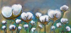Image result for PAINTINGS OF COTTON FIELDS