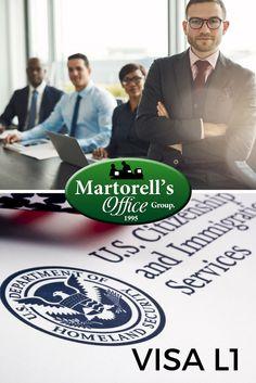 Registre una sucursal de su empresa en Los Estados Unidos y al mismo tiempo solicite la visa L1A para vivir y trabajar legalmente en Los Estados Unidos. Este tipo de Visa la tramitamos y es aprobada aquí en Los Estados Unidos, por lo que usted no necesita una cita previa en la embajada ni tampoco tener visa de turismo B1/B2. Martorell's Office Group, Con más de 20 años de experiencia podemos asesorarlo.  Para más información: registrousa@martorelloffice.com USA:(786) 586-7927