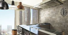 [ Younhyun Tile / 윤현상재 타일 ] Vintage Brick Style Tile : Chicago South Side / Size (cm) : 100X200