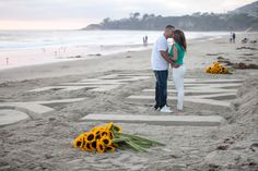 OC marriage proposal Sand Castle Marriage Proposal in Orange County