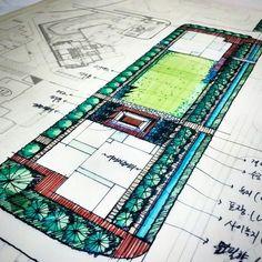 Tea time garden. study ~ing   #residential #center #space #study #vista #linear #simple #develope  #Bs #BellStone #Landscapearchitecture #Architecture #Landscape #Environment #Bsoffice #Design #Garden #Gardendesign #Gardening #Apartment #Townhouse #Amusement #Park #Resorts #Golf #Golfresort #Hotel #Planning #Drawing #Sketch