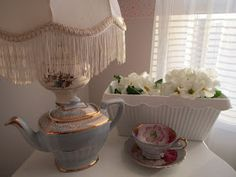 Karen's Cottage and Castle: A Baby Blue Tea Time