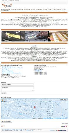 Textildruck, Digitaldruck, Wallisellen, Siebdruck, Beschriftung