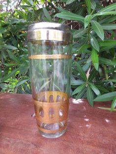 Vintage Martini Shaker / Vintage Home Bar Drink by KlassicHome, $20.00