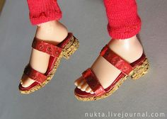 Sandals By nukta_nukta Ann Novikova