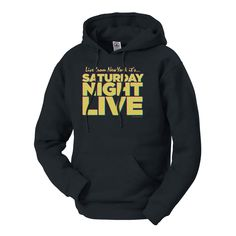 It doesn't matter the day of the week you're an SNL fan all day every day. Show it with the Saturday Night Live Live From New York sweatshirt. Late Night Comedy, New York Sweatshirt, Saturday Night Live, Red Hoodie, Red S, Casual Wear, Hooded Sweatshirts, Hoods, How To Wear