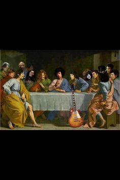 The last rock dinner!!