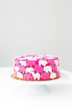 animal crackers on our cake? yes please | ban.do