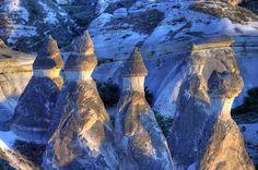 Foyers fées, en Cappadoce, en Turquie