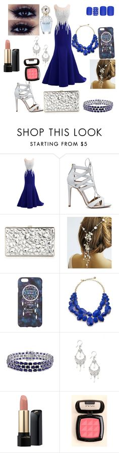 """""""Untitled #2"""" by anoopgill ❤ liked on Polyvore featuring Aquazzura, Sondra Roberts, Kate Spade, Marc Jacobs, Lancôme, NYX and Static Nails"""
