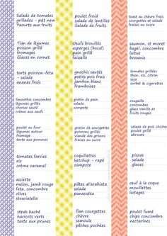 Use washi tape to organize your meal planning (simple. Weekly Menu Planners, Day Planners, Personal Planners, Home Management Binder, Learn Calligraphy, Batch Cooking, Planner Organization, Organizing, Practical Gifts