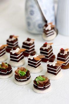 Felt cakes by krista