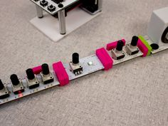 Support The Bleep Drum  by Dr Bleep at the @littleBits #bitLab #UserGeneratedHardware