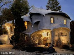 "A house in Maryland that belongs in a ""Lord of the Rings"" movie."