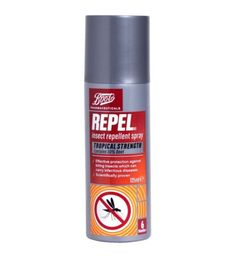 deet spray boots